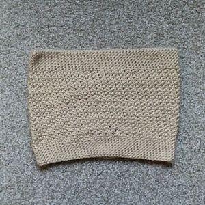 Handmade Crochet Cowl Neck Scarf
